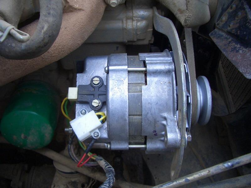 фото последовательного подключения тахометр камаз к генератору дизеля